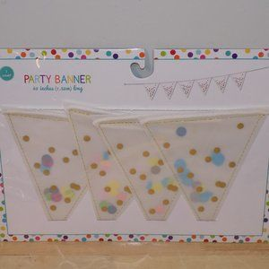 """Party Banner Decor Any Occasion 60"""" Length"""